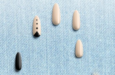 Manicure Nails Design Free Mockup Set