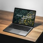 MacBook Air Free PSD Mockup