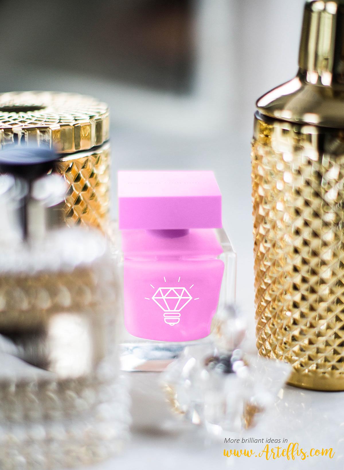 Perfume Bottle Free PSD Mockup