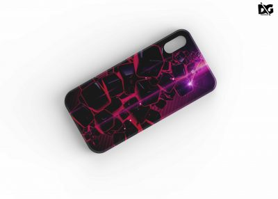 Phone Case Back Side Free PSD Mockup