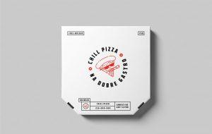 Pizza Box Free PSD Mockup