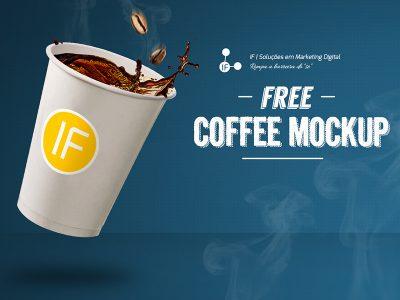 Realistic Coffee Cup Free Mockup