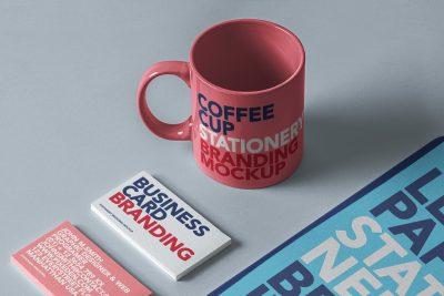 Stationery Branding Free PSD Mockup Set