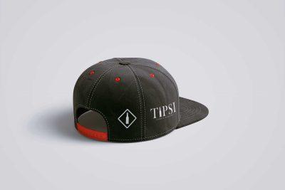 Tipsi Cap Design Free PSD Mockup