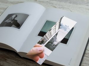 Bookmark Paper Free PSD Mockup