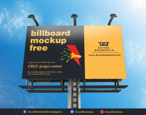 Free Billboard Mockup Design