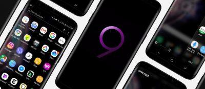Galaxy S9 Android App Free Presentation Mockup