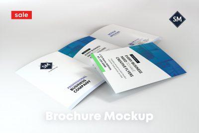 Minimal A4 Tri-Fold Brochure Mockup