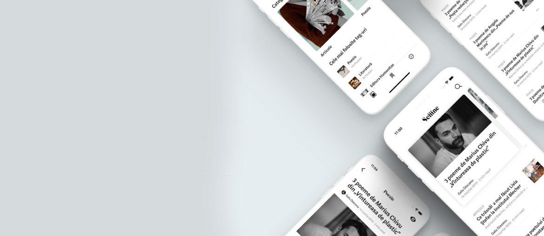 Minimal iOS App Presentation Free Mockup