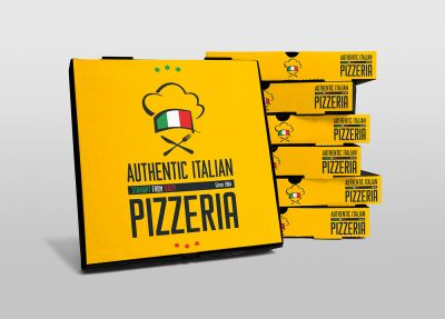Pizza Box Free PSD Mock-ups
