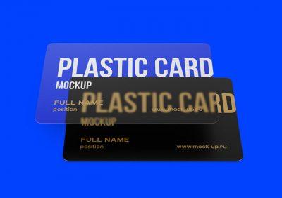 Plastic Card Free PSD Mockups
