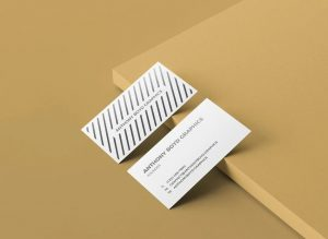 Business Card Free PSD Mock-ups