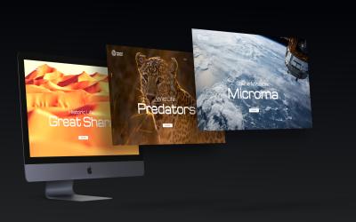 iMac Multiple Screens Mock-ups Scene