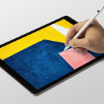 iPad Painting Free Mockup Scene