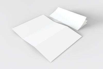Tri Fold PSD Brochure Free Mockup