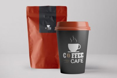 Coffee Packaging Free PSD Mockup