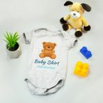 Baby Onesie Free PSD Mockup