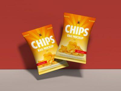 Free Chips Bag Mock-ups