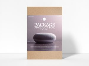 Free Package Product Box Mockup