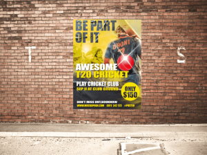 Free Urban Poster Mockup Design PSD Template