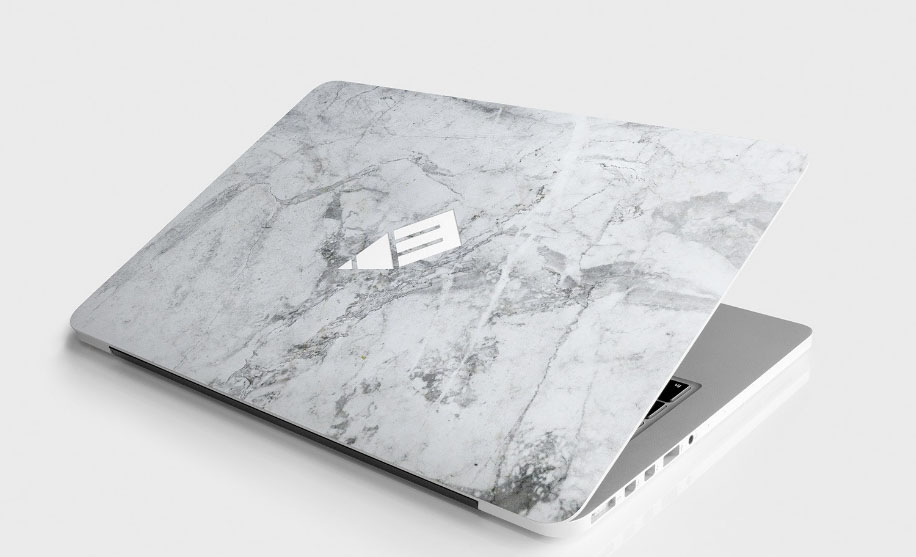 Laptop Sticker & Skin Free Mockup