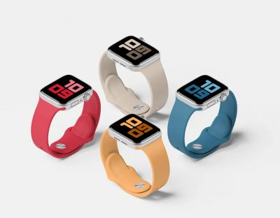 Apple Watch Series 5 Set Free Mock-ups