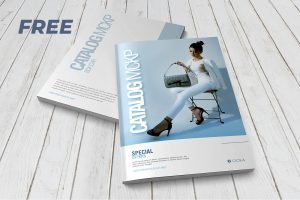 Book & Magazine Free PSD Mock-ups