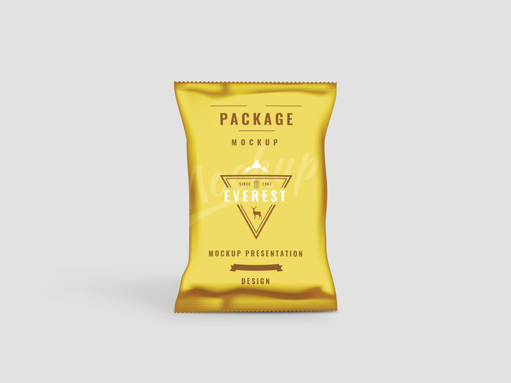 Chips Bag Free PSD Mockup