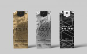 Coffee Bag Free PSD Mockup