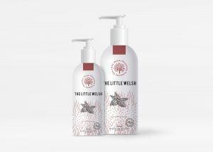 Free Shower Gel Bottle Mockup