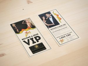 Free VIP Rack-Card Mockup
