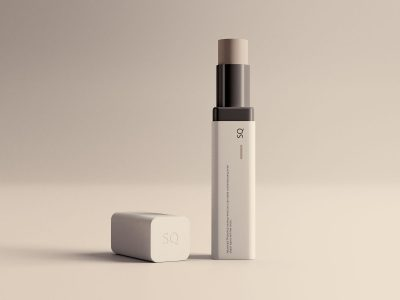 Lip Balm Packaging - Free PSD Mockup