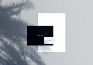 Stationery Scene Creator – Free PSD Mockup