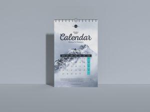Wall Calendar 2020 – Free PSD Mockup