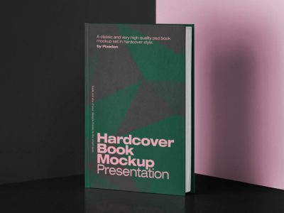 Classic Hardcover Book Free Mockup