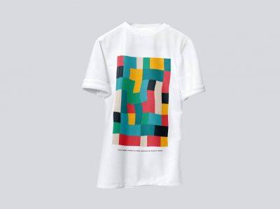 Creative Man's T-shirt Free Mockup