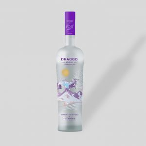 Frosted Vodka Bottle – Free PSD Mockup