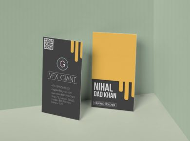 Free Creative Business Card Mock-ups