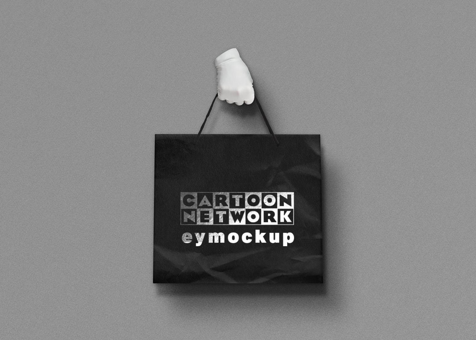 Free PSD Hand Bag Mockup