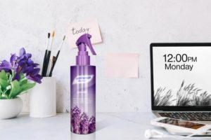 Free Room Freshener Spray Bottle Mockup