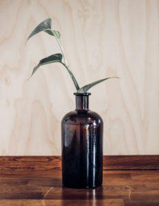 Modern Vase Bottle Free Mockup