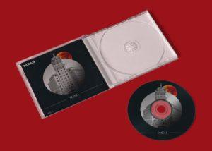 Plastic CD Cover & CD – Free Mockup