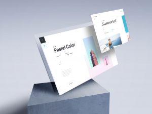 Screen Showcase Free PSD Mockup