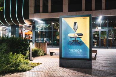 Billboard ad Free PSD Mockup Template