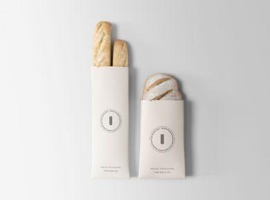 Bread Packaging Free PSD Mock-ups