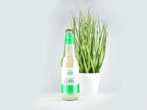 Clear Glass Bottle Free Mockup