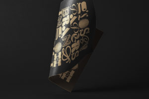 Folded Paper – Free PSD Mockup