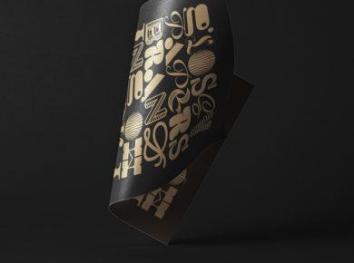 Folded Paper - Free PSD Mockup