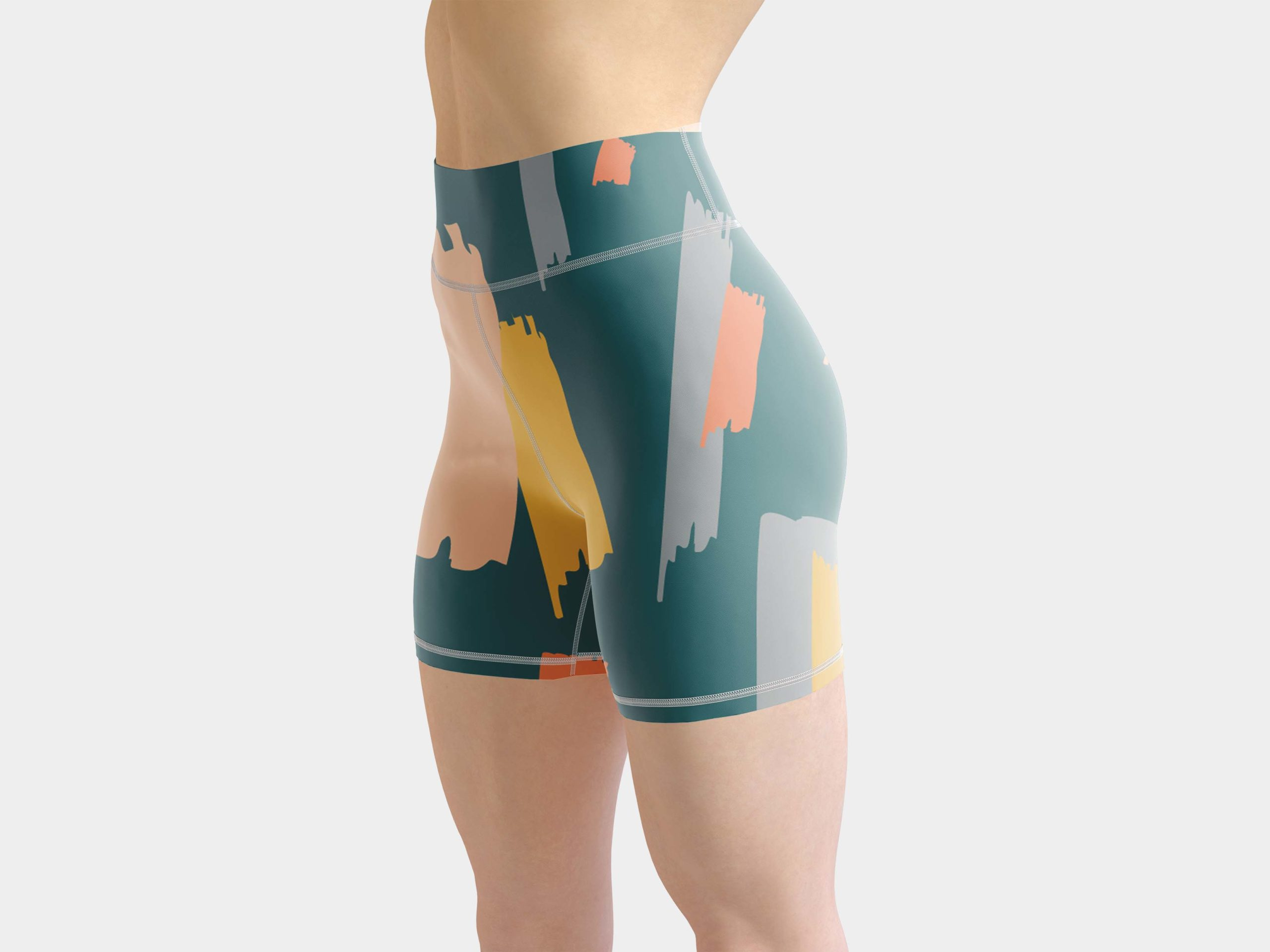 Free Training Women's Shorts Mockup