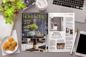 Open Magazine Mockup Free PSD Template